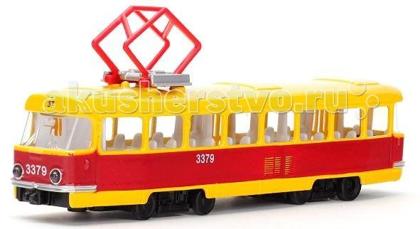 Машины Технопарк Трамвай CT12-463-2