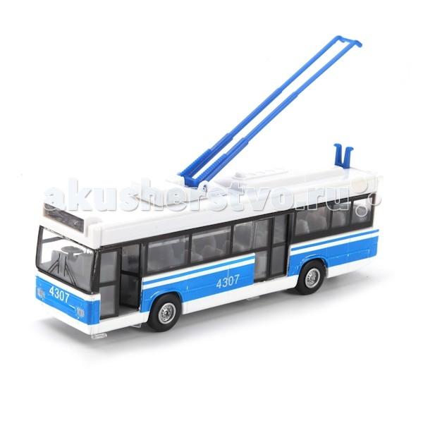 игрушка технопарк троллейбус trol rc Машины Технопарк Троллейбус CT12-434-1-2