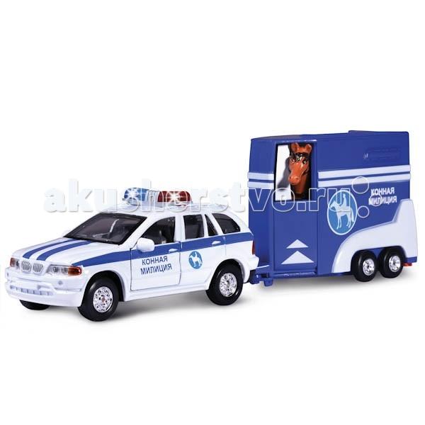 Машины Технопарк Машина с фургоном и лошадкой технопарк машина технопарк металлическая инерционная газ чайка милиция
