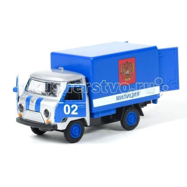 Машины Технопарк Машина УАЗ-3303 Милиция/Полиция машинка технопарк уаз патриот полиция 1 50