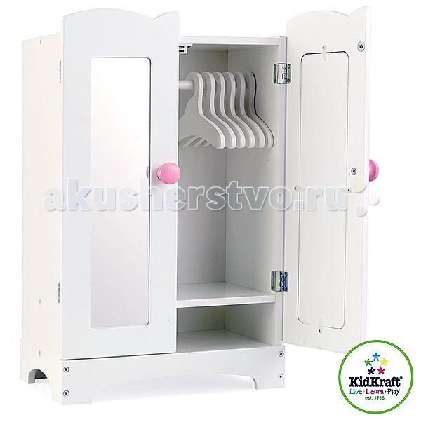 Ролевые игры KidKraft Кукольный шкаф для одежды шкаф для одежды ш 14 э