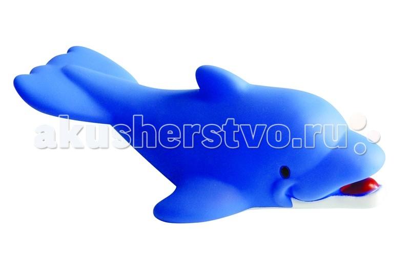 Игрушки для ванны ПОМА Игрушка для ванны Дельфин игрушки для ванны tolo toys набор ведерок квадратные