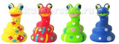 Игрушки для ванны ПОМА Игрушка для ванны Змейка игрушки для ванны tolo toys набор ведерок квадратные