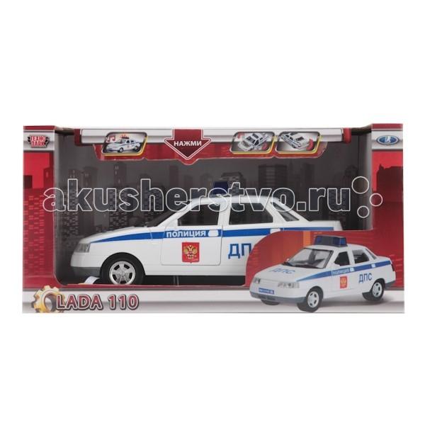 Машины Технопарк Машина Лада 110 Полиция лада приора купе 2011 стеклоподъемник ножницы левой двери купить
