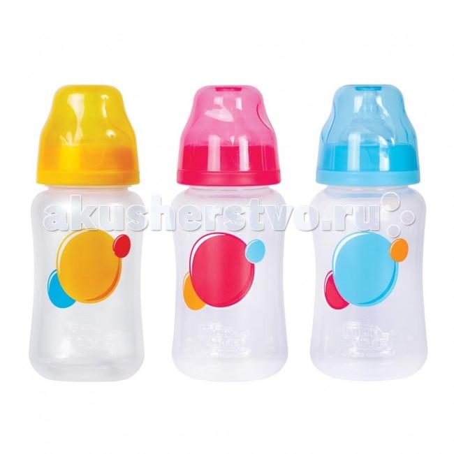 Бутылочки ПОМА полипропилен силик. соска с широким горлом 6+ 300 мл бутылочки пома полипропилен силик соска 140 мл