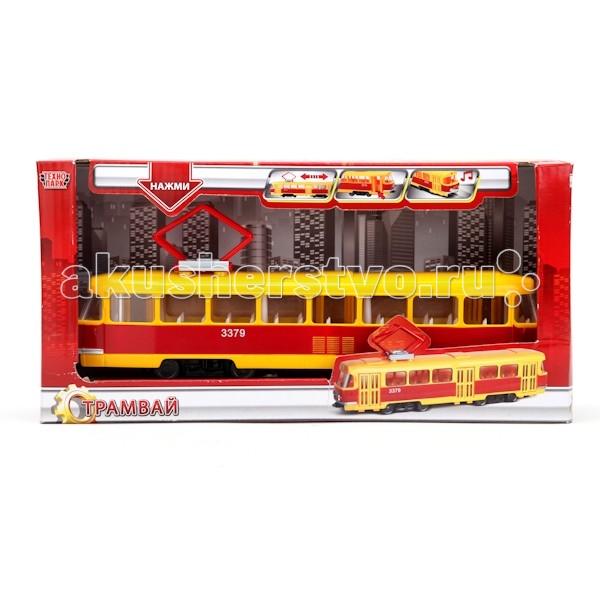 Машины Технопарк Трамвай CT12-428-2 технопарк трамвай