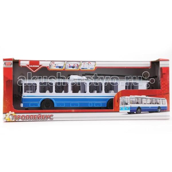 игрушка технопарк троллейбус trol rc Машины Технопарк Троллейбус SB-14-02
