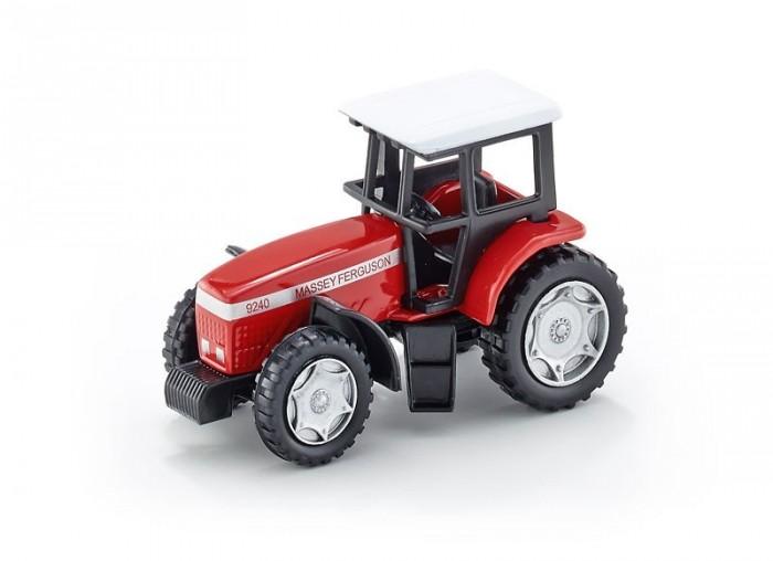 Машины Siku Трактор Massey Ferguson 0847 машины tomy трактор john deere massey ferguson 6613 с подсветкой и звуком
