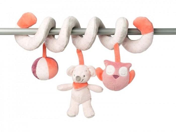Подвесная игрушка Nattou Toy spiral Adele & Valentine Слоник и Мышка