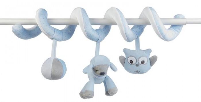 Подвесные игрушки Nattou Toy spiral Sam & Toby Овечка и Собачка, Подвесные игрушки - артикул:550916