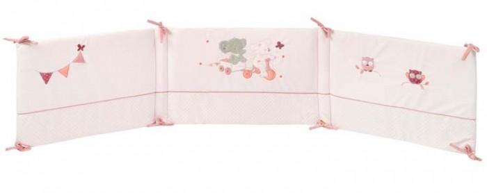 Бортик в кроватку Nattou Adele & Valentine Слоник и Мышка универсальный
