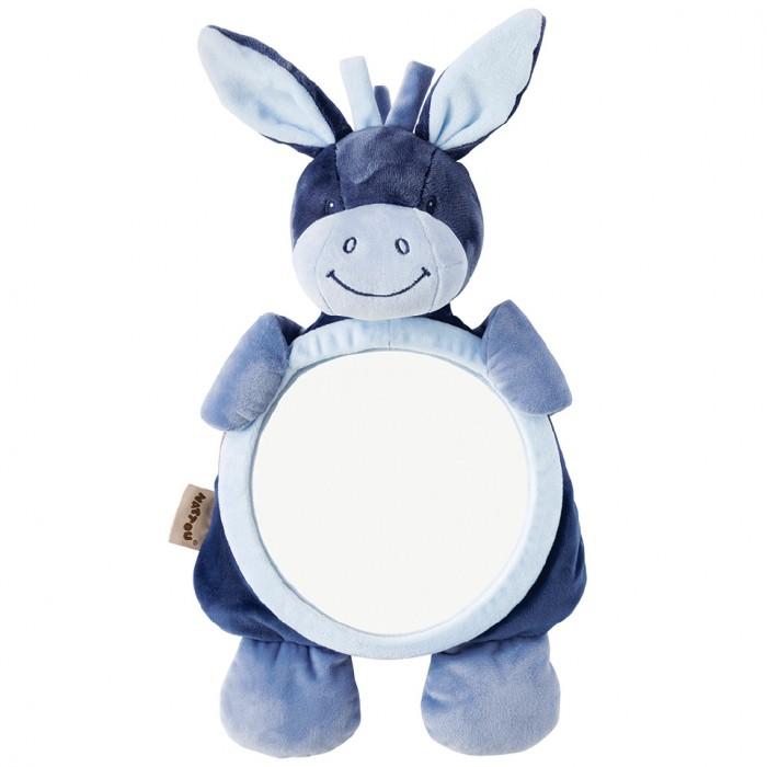 Купить Аксессуары для автомобиля, Nattou Игрушка мягкая Зеркало Mirror for car Alex & Bibiou Ослик и Кролик