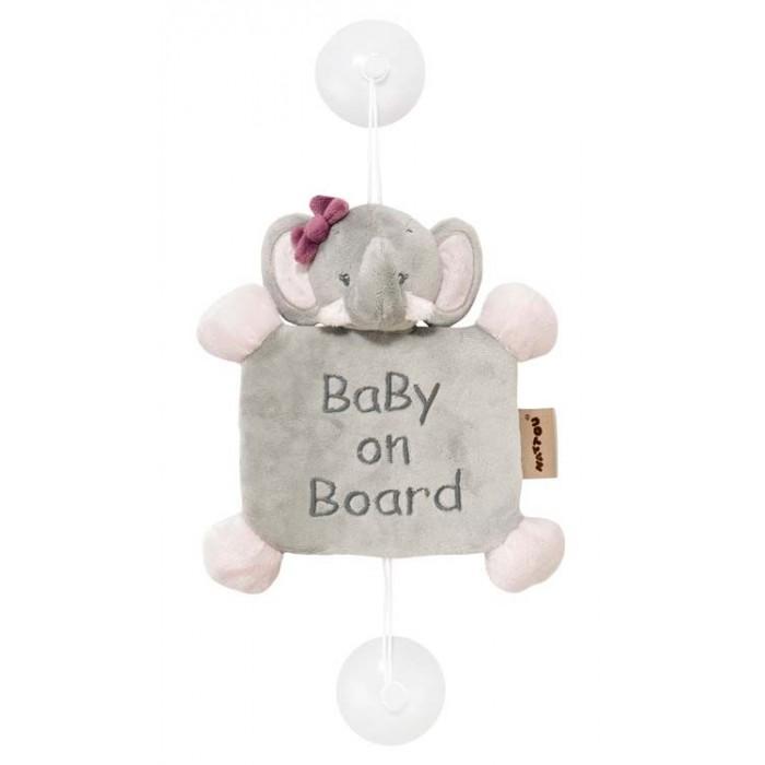 Купить Nattou Знак Baby on board Adele & Valentine Слоник в интернет магазине. Цены, фото, описания, характеристики, отзывы, обзоры