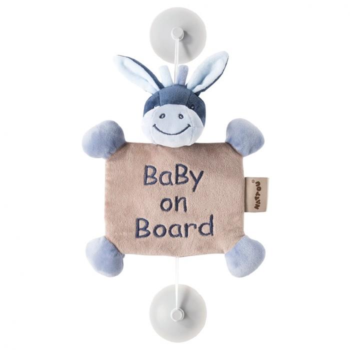 Аксессуары для автомобиля Nattou Знак Baby on board Alex & Bibou Ослик 95% new for air conditioning computer board kfr 26gw dy v pc board control board on sale