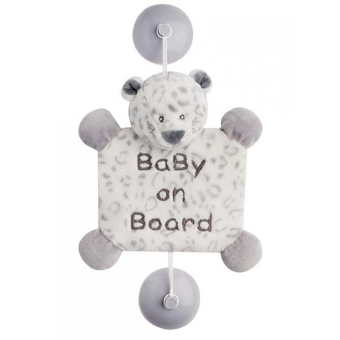 Аксессуары для автомобиля Nattou Знак Baby on board Loulou Lea & Hippolyte Леопард gzlspart for hp 1007 original used formatter board parts on sale