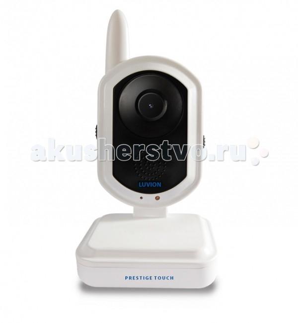 Luvion Дополнительная камера для Prestige TouchДополнительная камера для Prestige TouchLuvion Дополнительная камера для Prestige Touch полностью идентична идущей в комплекте. В ней сохранены все функции основной камеры, ее так же можно делать основной (или единственной) камерой. Всего к монитору можно подключать до 4-х камер, в системе они все будут иметь равнозначное положение и возможности. Подключение дополнительно приобретенных камер происходит в процессе программирования через основное меню.  Особенности: Полностью процесс описан в инструкции и занимает не более 3 секунд. После завершения спаривания дополнительных камер с монитором, выбор камеры для просмотра можно осуществлять как в автоматическом, так и в ручном режиме. Одновременно просматривать изображение с нескольких камер возможно в режиме КВАДРО (экран делиться на четыре равные части), передача звука в данном режиме отключена. При одновременной работе нескольких камер в режиме экономии SLEEP, включаться и передавать изображение на экран будет та камера, у которой сработал датчик звука. Чувствительность датчика плавно регулируется на камере.<br>