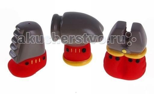 Игрушки для ванны ПОМА Набор игрушек для ванны Помогаю Папе 3 шт