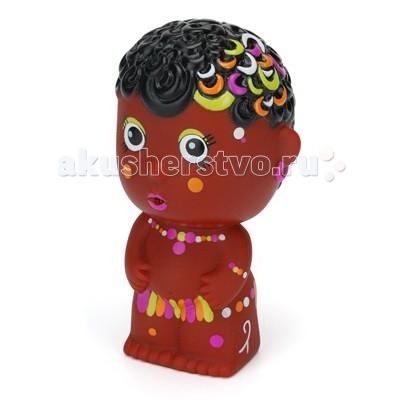 Игрушки для ванны ПОМА Игрушка для купания Тусики Африканская девочка детская игрушка для купания new 36 00