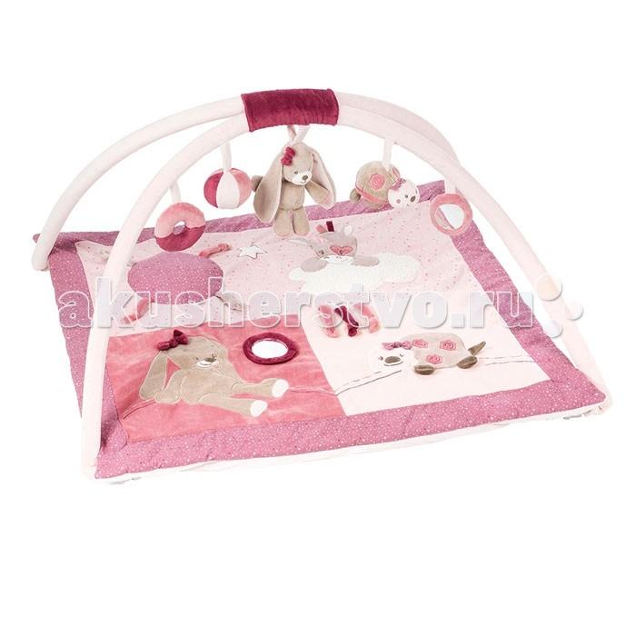 Купить Игровые коврики, Игровой коврик Nattou Nina Jade & Lili Кролик Единорог Черепашка