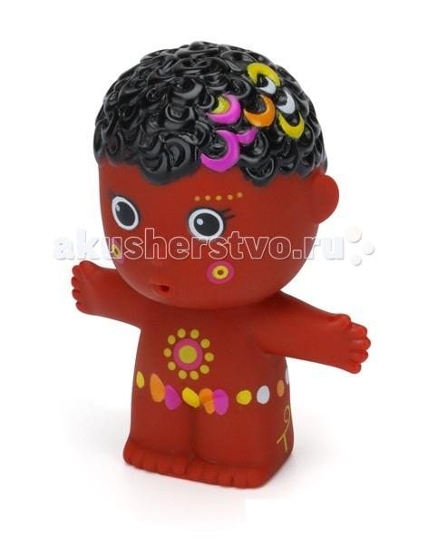 Игрушки для ванны ПОМА Игрушка для купания Тусики Африканский мальчик игрушки для ванны пома набор для ванны транспорт 2
