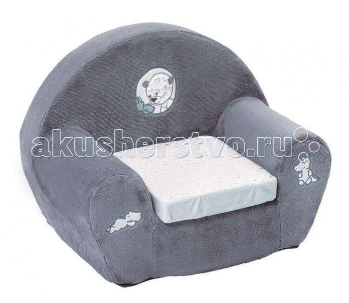 Купить Мягкие кресла, Nattou Креслице Loulou Lea & Hippolyte Панда Леопард & Бегемот