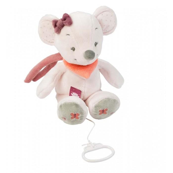 Мягкие игрушки Nattou Musical Soft toy Adele & Valentine Мышка музыкальная creative simulation plush soft fox naruto toy polyethylene