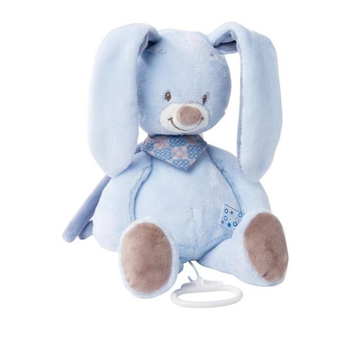 Мягкая игрушка Nattou Musical Soft toy Alex & Bibiou Кролик музыкальная