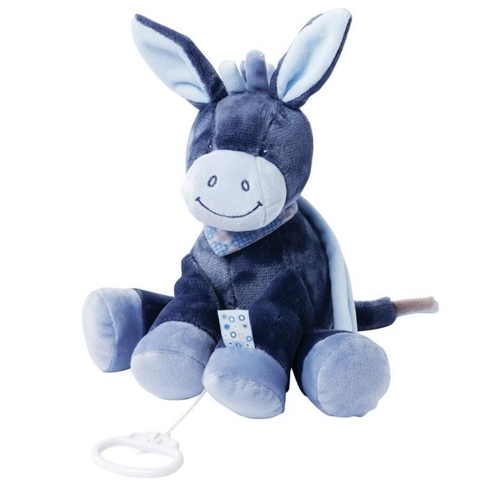 Мягкие игрушки Nattou Musical Soft toy Alex & Bibiou Ослик музыкальная creative simulation plush soft fox naruto toy polyethylene
