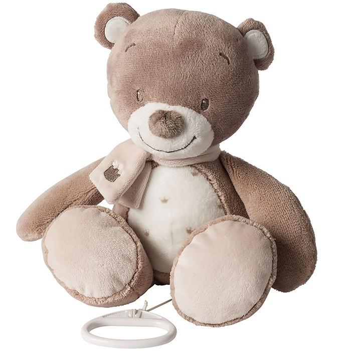 Мягкие игрушки Nattou Musical Soft toy Max Noa & Tom Мишка музыкальная 160cm giant stuffed teddy bear soft toy big large huge brown plush stuffed soft toy kids children doll girl christmas gift llf