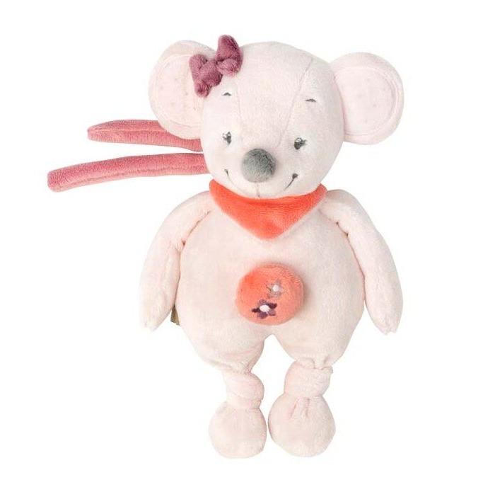 Новогодние украшения Nattou Musical Soft toy Mini Adele Valentine Мышка музыкальная мягкие игрушки nattou musical soft toy mini alex bibiou музыкальная ослик