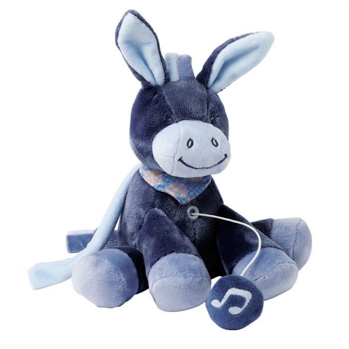 Мягкие игрушки Nattou Musical Soft toy Mini Alex Bibiou музыкальная Ослик мягкие игрушки nattou musical soft toy mini alex bibiou музыкальная ослик