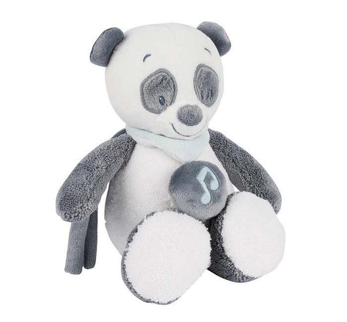 Мягкие игрушки Nattou Musical Soft toy Mini Loulou Lea & Hippolyte Панда музыкальная
