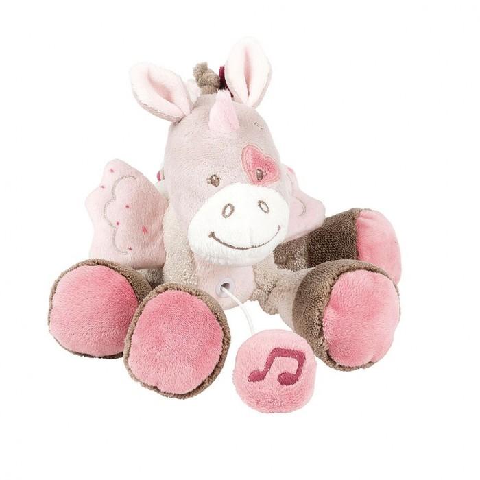 Мягкие игрушки Nattou Musical Soft toy Mini Nina Jade Lili Единорог музыкальная 22 см мягкие игрушки nattou musical soft toy mini alex bibiou музыкальная ослик