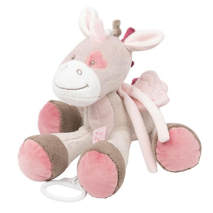 Мягкая игрушка Nattou Musical Soft toy Nina Jade & Lili Единорог музыкальная