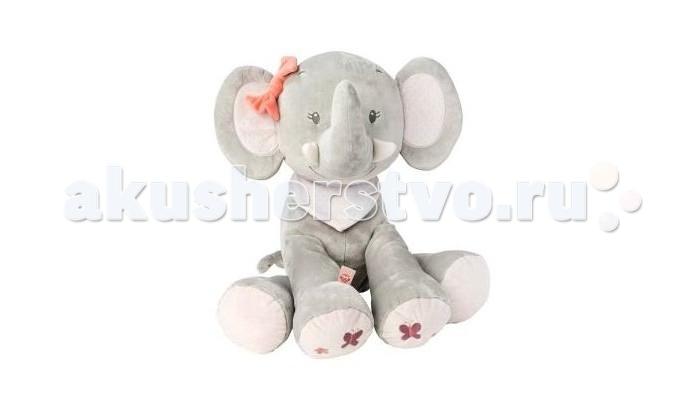 Мягкая игрушка Nattou Soft toy Adele & Valentine Слоник 75 см