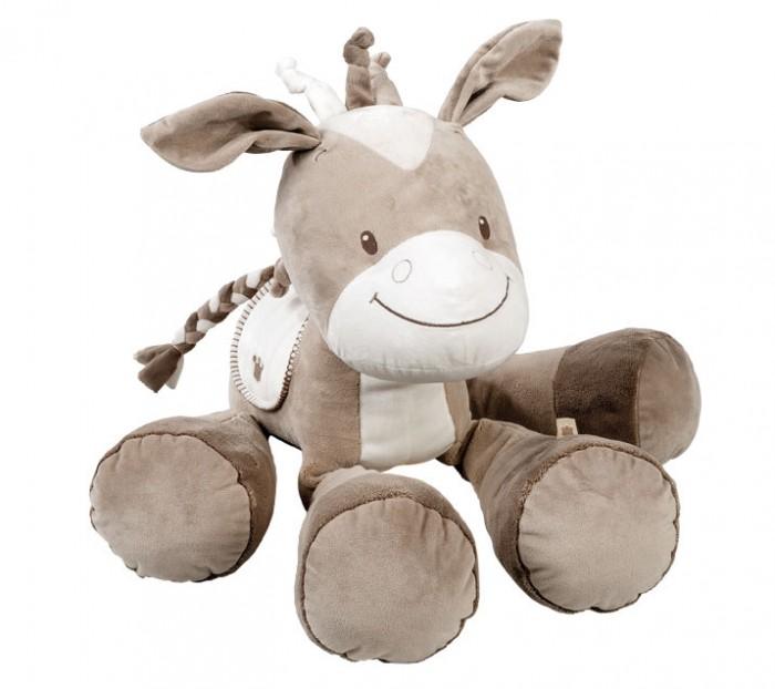 Купить Мягкие игрушки, Мягкая игрушка Nattou Soft toy Max Noa & Tom Лошадка 75 см