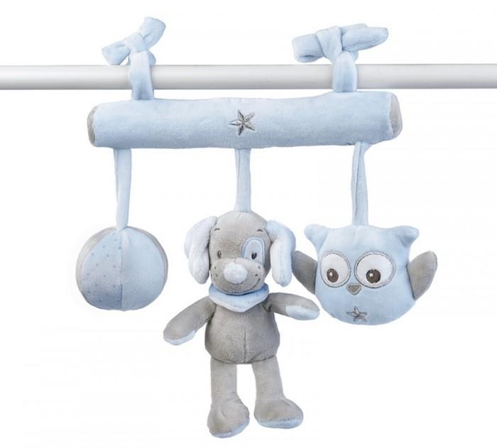 Подвесные игрушки Nattou Soft toy Sam & Toby Овечка и Собачка на завязках creative simulation plush soft fox naruto toy polyethylene