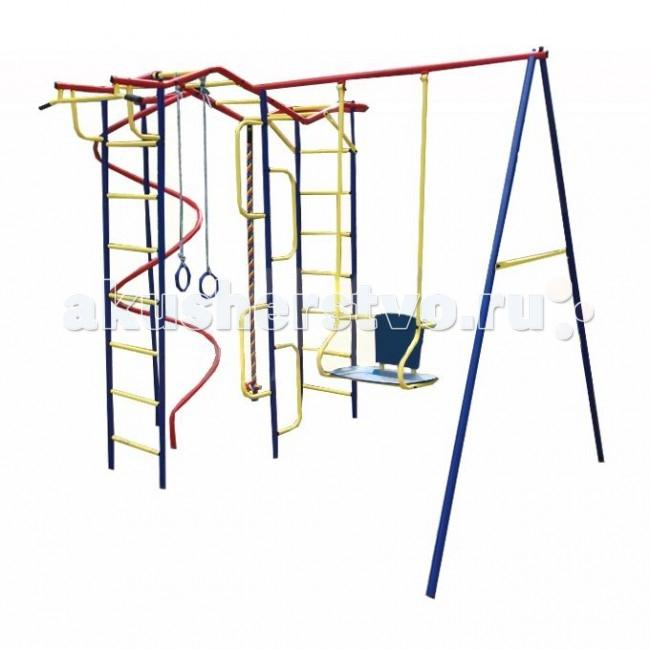 Пионер Детский спортивный комплекс Вираж со спиралью