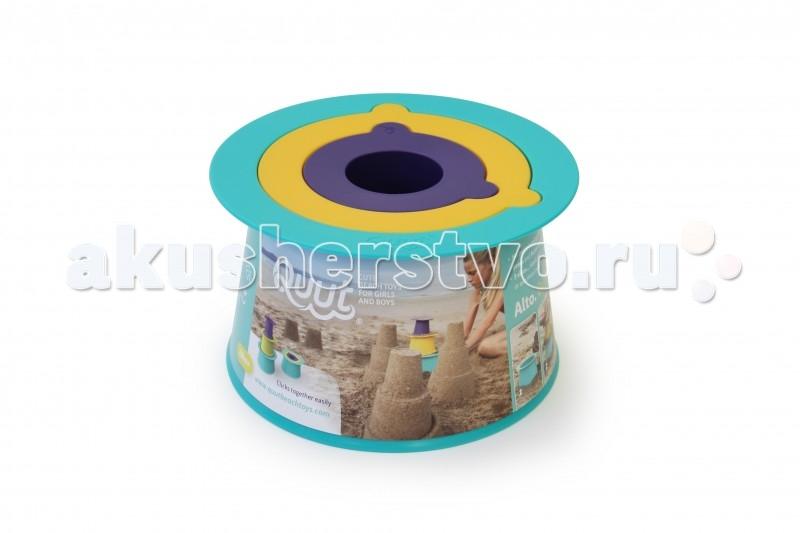 Летние товары , Игрушки в песочницу Quut Формочки для пирамид Alto арт: 55256 -  Игрушки в песочницу