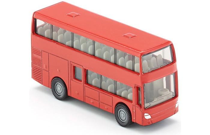 Машины Siku Двухэтажный автобус 1321 siku siku 1451 альфа ромео 4c