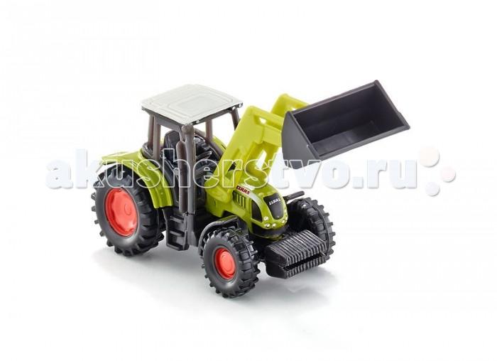 Машины Siku Трактор Claas Ares с фронтальным погрузчиком машины bruder трактор claas nectis 267 f с погрузчиком и прицепом
