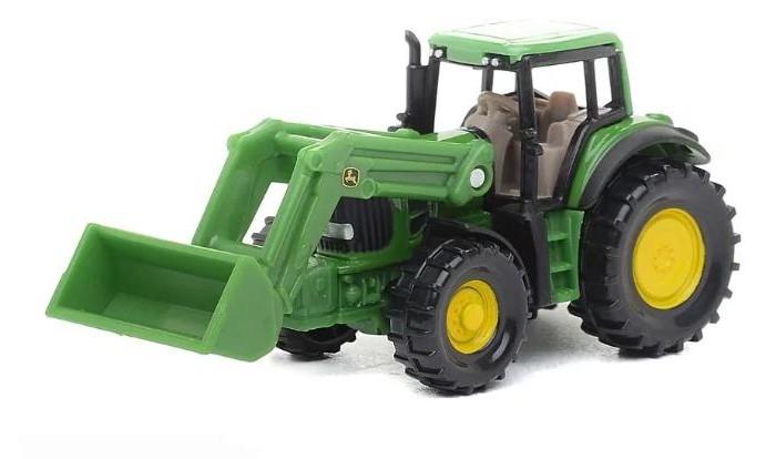 Машины Siku Фронтальный погрузчик John Deere 1341 трактор tomy john deere зеленый 19 см с большими колесами звук свет
