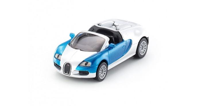 Машины Siku Машина Bugatti Veyron Grand Sport кабриолет 1353 siku модель машины bmw 645i кабриолет 1007