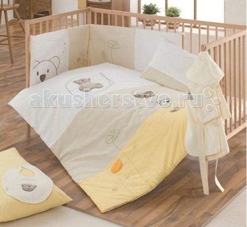Постельные принадлежности , Комплекты в кроватку Kidboo Little Bear (6 предметов) арт: 55284 -  Комплекты в кроватку