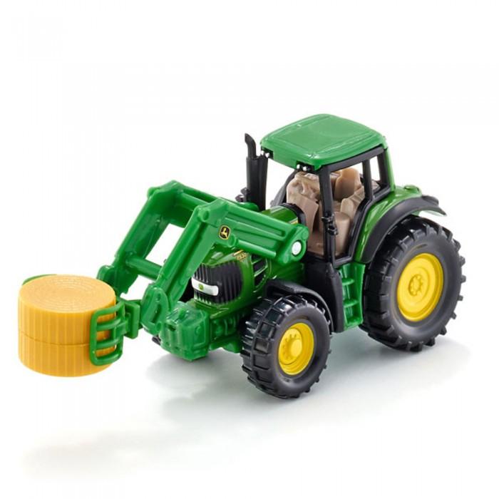 Машины Siku Трактор с захватом тюков 1379 siku трактор deutz agrotron с захватом для бревен