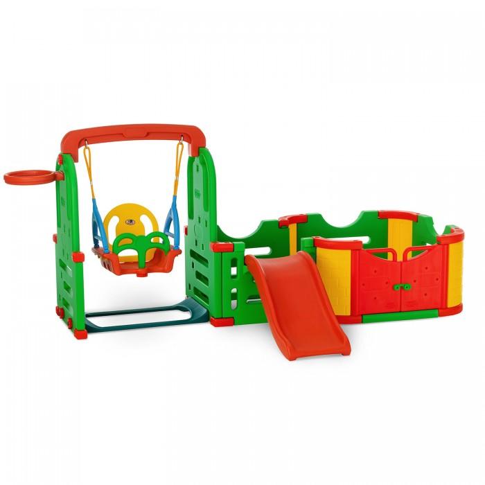 Купить Игровые комплексы, Happy Box Игровая зона Smart Park горка, качели, баскетбольное кольцо