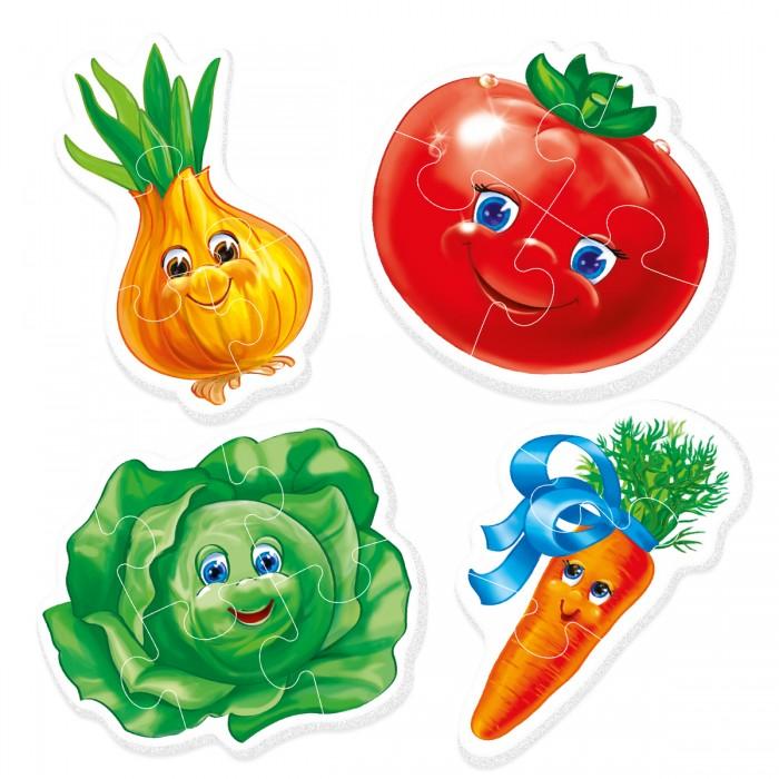 Пазлы Vladi toys Baby Puzzle Овощи пазлы crystal puzzle 3d головоломка вулкан 40 деталей