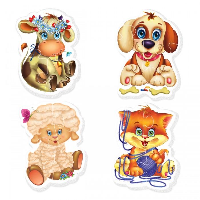 Пазлы Vladi toys Baby Puzzle Домашние любимцы магнитная игра развивающая vladi toys домашние любимцы