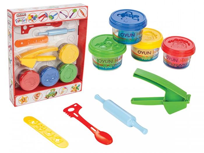 Всё для лепки Pilsan Игровой набор Smart Fun Set всё для лепки fun dough набор пластилина 4 банки 1 бонус