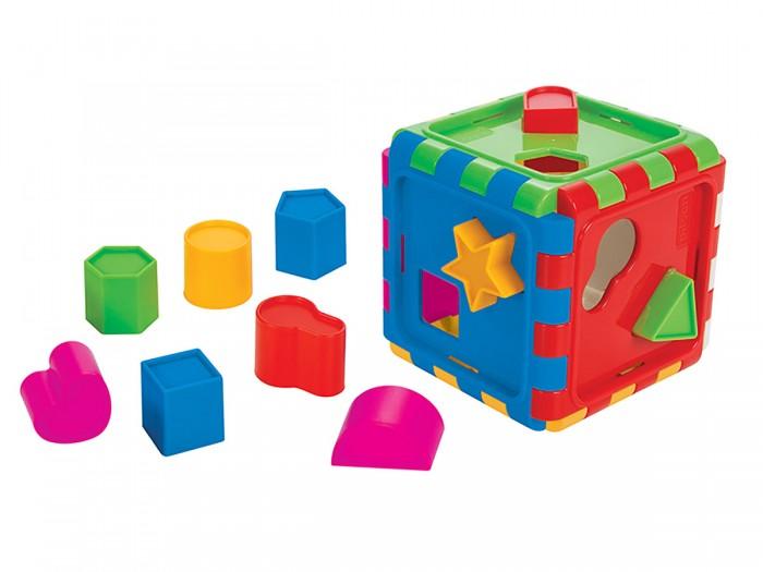 Сортер Pilsan Сборной куб с геометрическими фигурами Shape Sortet Cube